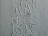 julian-waters-embossed-alphabet