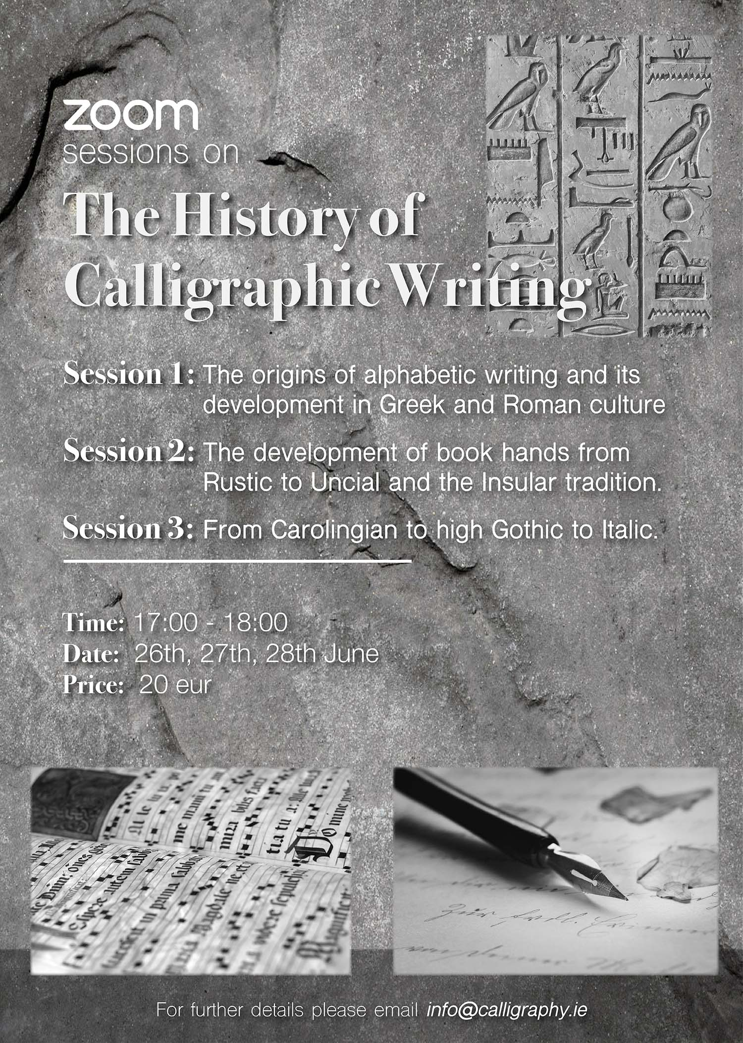 The History of Calligraphic Writing